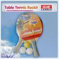 madeira de borracha com custom raquetes de tênis de mesa