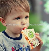 High Quality Baby Juice Spout Pouch, Reusable Food Spout Pouch