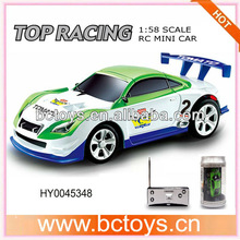 shen qi wei high speed 7.5cm 1:58 scale coke can mini rc car HY0045348