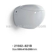 Siphon Factory Supplier S/P-Trap 3L/6L Wooden Toilet Seat Cover