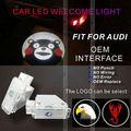 led lámpara de láser con 3d insignia del coche del coche del led luces logotipo
