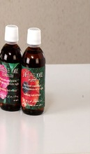 Italian organic cosmetic camellia oil and poppy oil skin care products