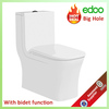 TOTO One-Piece High-Efficiency toilet Washdown toilet with bidet Mounted China Sanitary Ware Toilet with bathroom accessories