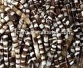 2mm cloche. cylindre. madagascar perles d'agate. 15x18mm agate perles baril avec 2mm trou