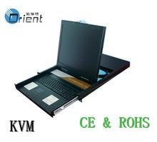 """19"""" 8 Port KVM Switch,LCD KVM Extender"""
