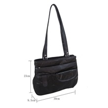 Latest young ladies fashion handbags lambskin leather women's bag