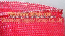 shandong qingdao good factory vegetable onion potato fruite packaging mesh bag ginger