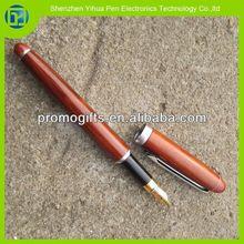 Novelty 2014 cheap wooden roller pen,promotional wood pen,roller wood pen