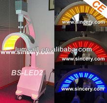 Skin care salon equipment red/blue LED lamp PDT
