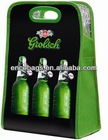 manufacturer six bottles beer cooler bag