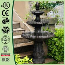 "56"" Classical 3 Tier Garden Water Fountain"