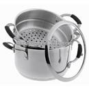 2015 new model,3pcs stainless steel steamer set,cookware set