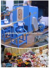 automatic cushion stuffing machine/pillow filling machine/fiber carding and filling machine