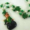 St.Patrick's Beads/Tiger