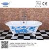 enamel bath,iron red bathtub,double ended antique cast iron bathtub