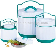 4.6L+1.6L two sets food warmer container