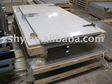 PU insulation cold room convex door / cold room hinge door