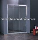 simple sliding bath screen