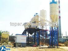 Automatic precast concrete mixing plant