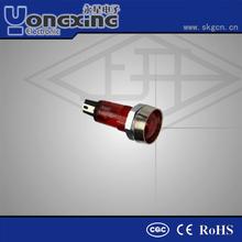 Hot sale 7mm Neon/Led Euro Type electric pilot lamp indicator /indicator lighting