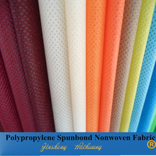 China Supplier SGS Certificated Colorful Spunbond 100% PP Non Woven Interlining
