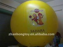 2014 hotsale good quality 2m diameter helium advertising giant balloon
