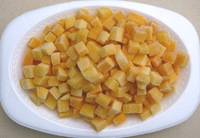 SUPPLY FROZEN MANGGO WITH SLICE, DICE, HALF- CUT SHAPE With BEST Quality