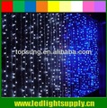led cortinas de organza con luces