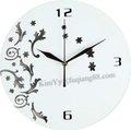 Рекламные искусство настенные часы и настенные часы из 2 choicw белый или черный