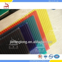 twin wall polycarbonate hollow sheet smoke color