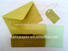 handmade paper gift envelope set