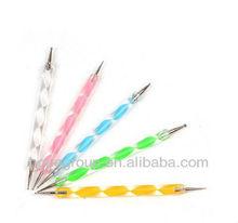 nail art Dotting Painting Marbleizing Pen two ways pen/nail tool equipment
