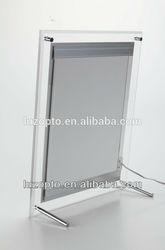 A0,A1,A2,A3,A4 acrylic slim light box, slim led light frame