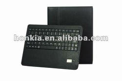 Detachable Bluetooth Wireless Keyboard with Leather Case for Blackberry Playbook