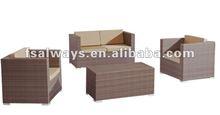 modern outdoor rattan/wicker furniture 2013 AWS00165