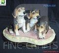 perros polyresin estatuilla estatua de recuerdos