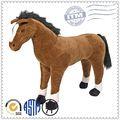 personalizado pelúcia animais e brinquedos para crianças grande cavalo de pelúcia