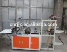 Heat-sealing and cold cutting bag making machine/plastic/T-shirt bag making machine