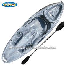 Wheel installed single recreational kayak--PURITY II