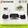 sofá do escritório de importação de couro office sofa