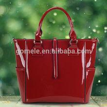 2015 Latest design fashion best selling 100% genuine leather women handbags ladies bag leather tote bag