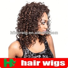 hair synthetic wigs side bangs