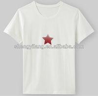 OEM cotton Jersey style t shirt Men / Custom style t shirt T12820