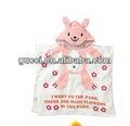 Candy baby roupão cor bonito dos desenhos animados estilo coelho 100% algodão toalha crianças letras s