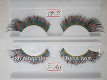 2015 hot design cheap three color false fashion bulk eyelashes