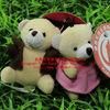 Hot sales 2014 !6-10 cm animal plush keychain & Dongguan plush toys manufacturer (ICTI Audited)