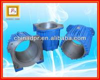 Ductile iron motor shell