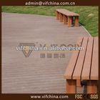 Garden design interlocking wpc decking tiles