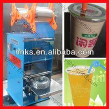 plastic cup sealing machine/plastic cup heat sealing machine/cup sealing machine