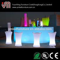 YM Wholesale Illuminated Outdoor Home Used LED Bar Furniture